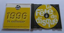 LA FETE DU DISQUE 1996 Le Collector CD Stephan Eicher Enzo Enzo Alain Bashung
