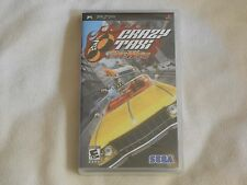 NEW Crazy Taxi : Fare Wars PSP Game SEALED Sony Sega crasy taxy fair warz US Ver