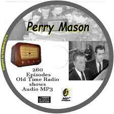 Perry Mason - 260 OTR Old Time Radio Episodes Audio MP3 on CD