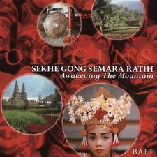Sekhe Gong Semara Ratih Awakening the Mountain CD *SEALED* Bali Gamelan