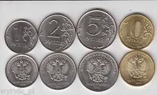 RUSSIA 2016 set of 4 coins UNC new types