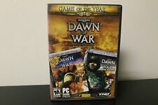 Dawn of War - Gold Edition (PC, 2004) *Tested / GOTY / 2 Games - Winter Assault