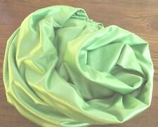 Vintage Shiny Lime Green Jersey Knit Nighty Fabric 8 Yards