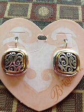 Brighton Silver & Gold SPIN MASTER Earrings NWT