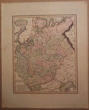 JOHN CARY MAP OF PRUSSIA 1813 FROM HIS New Elementary Atlas
