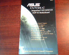 Asus CUV4X-C JumperFree PC133/VC133 AGP   User's Manual - VIA VT82C694X Chipset