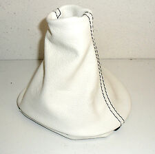 RENAULT TRAFIC 2001 SHIFT BOOT 100% REAL LEATHER WHITE