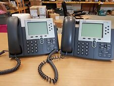 2 X CP-7962G Cisco Unified IP Phone , VoIP-Telefon  - VAT INCL