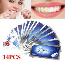 28 Pro Effects Professional 3D Teeth Whitening Strips Enamel Safe 14 Pouches UK