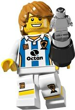 Lego Minifigures 8804 Series 4 Soccer Player Brand New in factory Sealed Packet