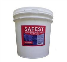 AllStop- 100% Food Grade Diatomaceous Earth 2Gal- BedBugs, Scabies, Pest Control