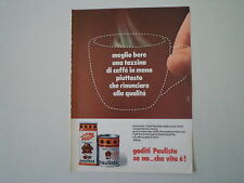 advertising Pubblicità 1974 CAFFE' CAFE' PAULISTA