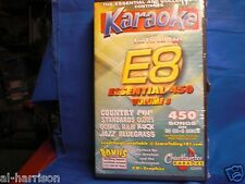 Chartbuster Karaoke Essentials - E-8 SET CD+G 30 FACTORY DISC 450 SONGS