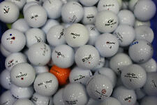 100 USED STORE LINE GOLF BALLS MIXED GROUP  FREE SHIPPING ! !