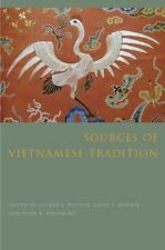 Sources of Vietnamese Tradition (Introduction to Asian Civilizations), , New Boo
