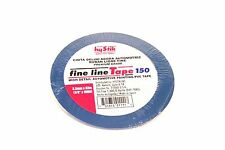 "1/8"" Blue Fine Line Masking Tape  Hystik #150  36 Yds(108ft)"
