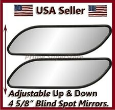 AUXILIARY BLIND SPOT WIDE VIEW MIRROR X SMALL SIDE REARVIEW CAR RV VAN & TRUCK 2