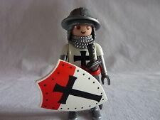 PLAYMOBIL personnage chateau soldat guerrier accessoire chevalier templier n°3