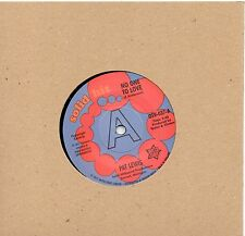 PAT LEWIS   NO ONE TO LOVE / LOOK AT WHAT I ALMOST MISSED  UK OSV/SOLID HIT DEMO