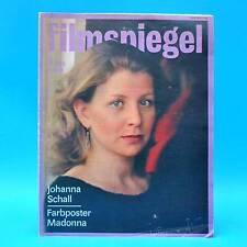 DDR Filmspiegel 1/1986 Madonna Ove Sprogoe Maria Schell Hildegard Knef B. Ganz D
