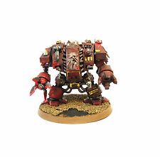 WARHAMMER 40K ARMY  CHAOS SPACE MARINE CONVERTED DREADNOUGHT  PAINTED