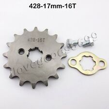 428 16 Tooth 17mm Front Gear Engine Sprocket For SSR Pit Dirt Bikes DHZ Atomik