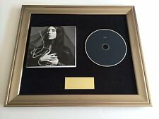 PERSONALLY SIGNED/AUTOGRAPHED LYKKE LI - I NEVER LEARN FRAMED CD PRESENTATION.