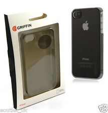 Griffin iClear Case Cover For iPhone 4/4S - Smoke Grey Transparent NEW