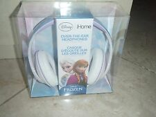 DISNEY FROZEN OVER THE EAR KIDS HEADPHONES ELSA iHOME GIRLS ~ NIP