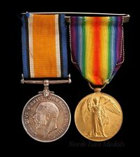 British War Medal and Victory Medal to Sapper Macklin, Royal Engineers