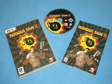 Serious Sam II 2 > de juego para PC DVD-ROM * GC * Completo con Manual Y Sn