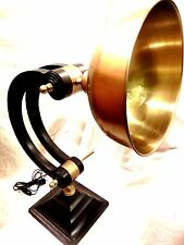 Home Decor Vintage Nautical Brass With Powder Coated Lamp