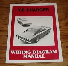 1968 Dodge Charger Wiring Diagram Manual 68