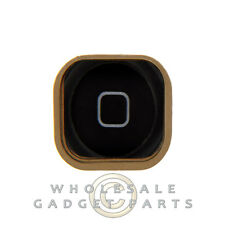 Home Button with Rubber Gasket for Apple iPhone 5 GSM CDMA Black Touch Menu