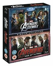 AVENGERS Assemble / Age of Ultron [Blu-ray Box Set] Complete 2-Movie Collection