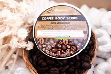 50g COFFEE BODY SCRUB REDUCE CELLULITE ACNE STRETCH MARKS WHITENING LIGHTENING
