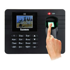 "2.4"" Fingerprint / Password Attendance Time Clock Employee Access Control System"