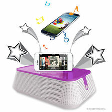 Portable Speaker for Mobile phones - IOS or Android system - PURPLE