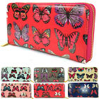 LYDC Ladies Wristlet Purses Designer Women Wallet Oil Cloth GIFT NEW UK 6 Colour