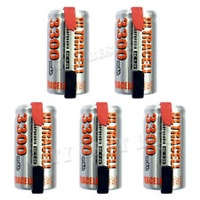 5 x Sub C 1.2V Volt 3300mAh NiMH Rechargeable Battery With Tabs Ultracell