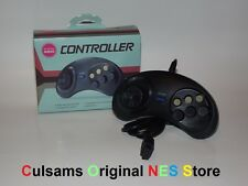 NEW SEGA GENESIS GAME CONTROLLER PAD With 6 BUTTON and GUARANTEE