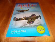 SPITFIRE IN PICTURES World War II Airplane RAF Fighter WW2 Book + Print Set NEW