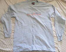Harley Davidson Premont Quebec Long Sleeve Shirt Grey Size L