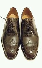 JOSEPH CHEANEY & SONS BROAD MARONITE OXFORD BROGUES LEATHER SHOE uk 6.5F eu 40.5
