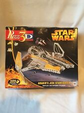 2201) STAR WARS ANAKIN'S JEDI STARFIGHTER 2005 PUZZ 3D 505 PIECES PUZZLE