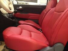 Kit Rigenera Colore Pelle Fiat 500 Sport Ritocco interni Rosso Frau Rot Cabrio