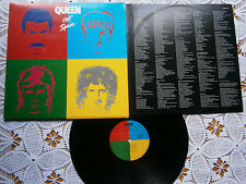 QUEEN HOT SPACE RARE ORIGINAL EX YUGOSLAVIA 1ST PRESSING 1982 EX-/EX