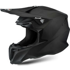 AIROH CASCO TWIST 2016 NERO BLACK OPACO MATT HELMET MOTO CROSS ENDURO TG L
