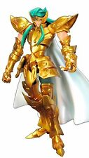 Now Action Saint Seiya Gold Saint Aquarius Camus Actionable Resin Statue