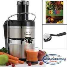 Jack Lalannes JLSS Power Juicer Deluxe Stainless-Steel Electric Juicer